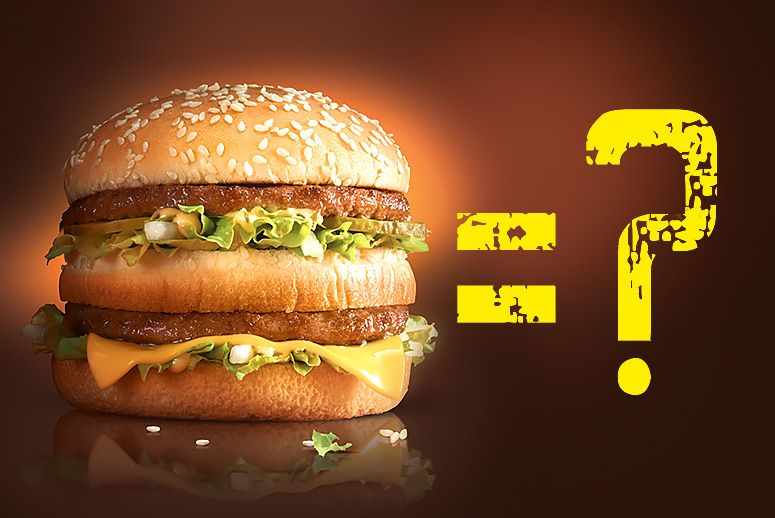 """Do you want to be a Big Mac?"" A foolproof method for making the right food choices"